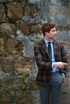 Redhead / Ginger - mens style