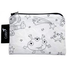 Colibri - Small Reusable Bag - Colour Your Own - Space