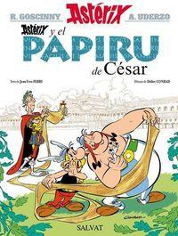 Para saber si está disponible, pincha a continuación  http://absys.asturias.es/cgi-abnet_Bast/abnetop?ACC=DOSEARCH&xsqf01=asterix+papiru+cesar+xose