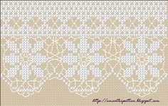 Cross Stitch lace (more on blog) - free