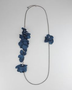 """Long Petal Necklace, 60""""L by Lanvin at Neiman Marcus. #NMFallTrends"""
