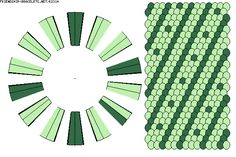 2 color kumihimo pattern 2x28