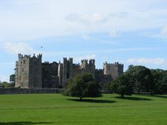 Raby Castle, near Durham.  You can often see the deer roaming the grounds-takes your breath away!