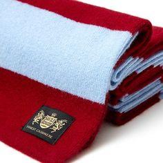 Burnley FC King Minibar cashmere football scarf