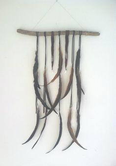 caravan. a bohemian feather wall hanging // spirit by SpiritTribe, $58.00