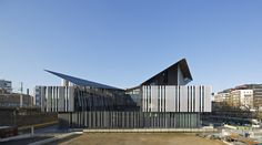 Image 1 of 30 from gallery of Macdonald Public Facility Complex  / Kengo Kuma & Associates. Photograph by Guillaume Satre