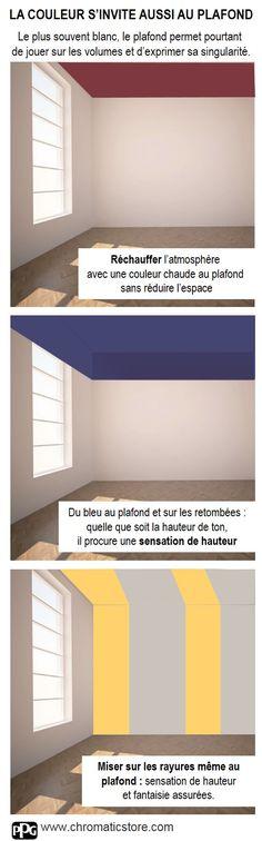 Il est possible de modifier la perception d un espace for Accorder les couleurs peinture murale