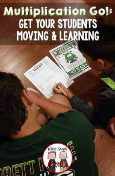 Multiplication Go is sure to be a hit with your students. Incorporating walking and learning into one fun game, Multiplication Go is an active multiplication activity that gets kids out of their seats and out into the school to find clues to solve math problems.