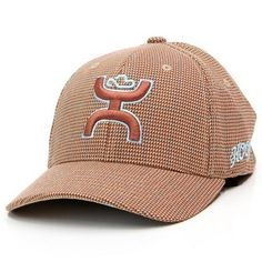 Hooey® Youth CR5 Rust Plaid FlexFit Cap Hooey Hats 39d437b9ca43