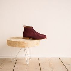 Boots et Bottines couleur Cabernet Bobbies L'explorateur Bobbies Shoes, Ankle Boots, Color