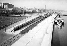 Rok 1938. Wybrzeże Gdańskie po przebudowie.