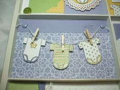 31 Days of Doilies--Day 11 (Baby Tees Photo Frame)