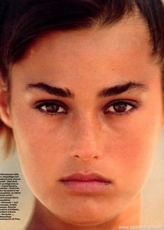Yasmin Le Bon Elle France 20 May 1985  ph: Gilles Bensimon