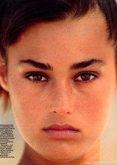 Yasmin Le Bon Elle France 20 May 1985  ph: Gilles Bensimon