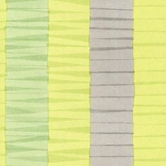 Cala Nova Green Layered Crepe Stripe Wallpaper