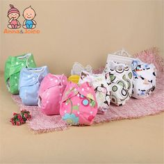 Freeshipping 28pcs/lot  Newborn Cloth Diaper Nappy Cover Reusable Washable Training Urine Pants Nappies atrx0018 #Affiliate
