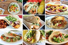 Mist try, really delicious and healthy <3 <3 Beer Battered Fish Tacos with Avocado Salsa