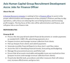 Axis Human Capital Group Recruitment Our Vision And Mission