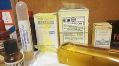 Collectie oude #apotheek voorwerpen van Máxima Medisch Centrum voorheen Sint Joseph #ziekenhuis #Eindhoven #Veldhoven #vintage #Healthcare #medicatie