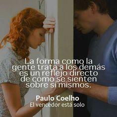 El vencedor está solo. Paulo Coelho.