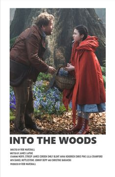 into the woods Iconic Movie Posters, Minimal Movie Posters, Minimal Poster, Iconic Movies, Film Posters, Good Movies, Series Poster, Film Poster Design, Poster Designs
