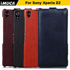 Leather Case Capa For Sony Xperia Z2 Luxury Flip Back Cover Shell For Sony Xperia Z2 L50 L50W D6503 Mobile Phone Bags Cases