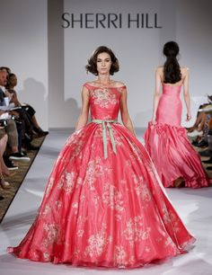 Sherri Hill - Runway - Mercedes-Benz Fashion Week Spring 2015 - Pictures - Zimbio