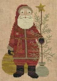 Resultado de imagen de old cross stitch christmas