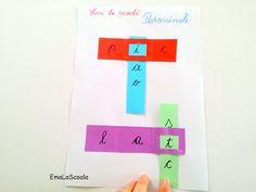 Paronime - joc de gramatica de lipit pe caiet - Ema la scoala Bar Chart, Bb, Bar Graphs