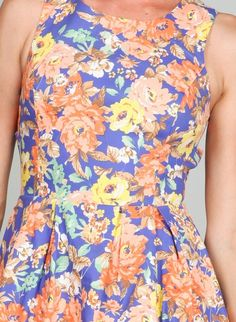 LOVE this floral print!