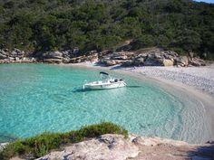 petite plage entre Saleccia et le Lodo. Corse