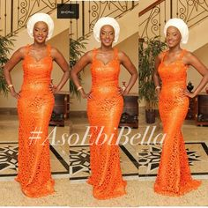 An is a wedding guest {bella} looking stunning in aso-ebi – the fabric/colours of the day, at a traditional - BellaNaija Weddings. African Dresses For Women, African Wear, African Women, Ethnic Fashion, African Fashion, Ankara Fashion, Aso Ebi Styles, Ankara Styles, Ghanaian Fashion