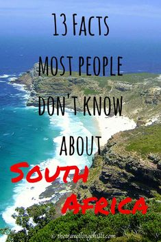 13 facts most people don't know about south africa– Tanks that Get Around is an online store offering a selection of funny travel clothes for world explorers.tanksthatgeta… for funny travel tank tops and world facts. South Africa Facts, Visit South Africa, Cape Town South Africa, Oh The Places You'll Go, Places To Travel, Travel Destinations, Chobe National Park, Le Cap, Thinking Day