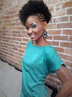 Outstanding Mohawk Updo Updo And Hairstyles For Black Women On Pinterest Short Hairstyles For Black Women Fulllsitofus