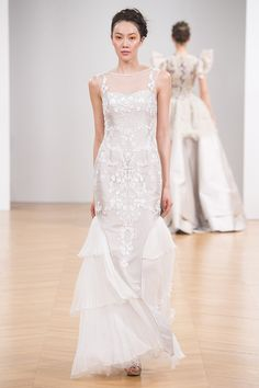 Paris Fashion Week Spring Summer 2017 Haute Couture Collection by Dany Atrache - wedding gown