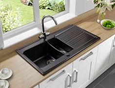 Top 15 black kitchen sink designs black kitchens sinks and kitchens something you should know about kitchen sink with drainboard workwithnaturefo