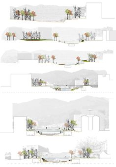 52 Trendy Landscape Architecture Masterplan Posts Coming from town government bedrooms for you to Architecture Panel, Landscape Architecture Design, Architecture Graphics, Architecture Drawings, Masterplan Architecture, Section Drawing Architecture, Site Analysis Architecture, Portfolio D'architecture, Urbane Analyse
