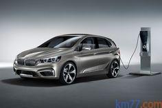 BMW Concept Active Tourer Monovolumen Exterior Toma de recarga 5 puertas