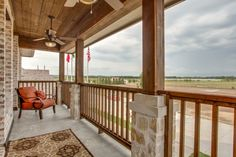 A relaxing porch at one of our Viridian properties. #CambridgeHomes
