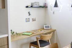 働く女性の悩みを解決! 生の声を取り入れた理想の家 コーワの家写真集 注文住宅 石川県金沢市 Muji Home, Office Desk, Corner Desk, House, Furniture, Home Decor, Muji House, Corner Table, Desk Office