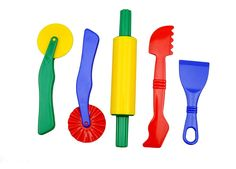 Amazon.com: Strokes Art Durable Clay and Dough Tools Five Piece Set - Ages 3 & Up: Toys & Games