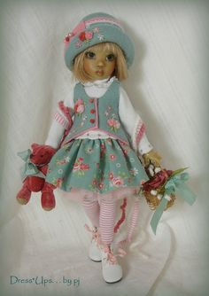 Sights Set on Spring!..by DressUps by pj, made for Kaye Wiggs' Tillie