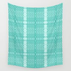 WALL TAPESTRY Lacy Wave Line designed  by We~Ivy. Available in 3 sizes, 100% lightweight polyester with hand-sewn finished edges. Featuring vivid colors and crisp lines, these highly unique and versatile tapestries are durable enough for both indoor and outdoor use. Machine washable. Follow We~Ivy's Art BootH for more special #art #gift ideas for #holiday seasons or # birthday #party, to find great #home decors or stuff just to spoil yourself. Line Design, My Design, Waves Line, To Spoil, My Themes, Website Themes, Tapestries, Hand Towels, Hand Sewn