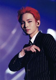 why is nobody talking about key with red hair? Taemin, Minho, Rapper, Shinee Members, Shinee Debut, Tokyo Dome, Better Music, Choi Min Ho, Korean K Pop