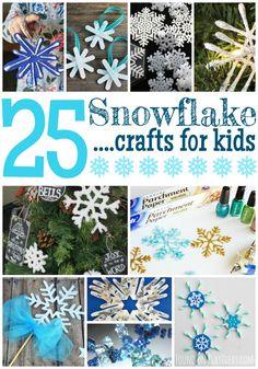 Snowflake Crafts Pinnable