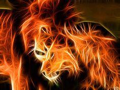 Fractalius lions