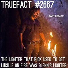 "14.3 mil curtidas, 266 comentários - If I Posted It.. Its True. (@twdtruefacts_) no Instagram: ""Rick's taking Glenn's death personal... damn. #TWD #TheWalkingDead #WalkingDead"""