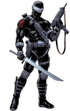 "How to make a GI Joe ""Snake Eyes"" costume Silent… but deadly… i'm not talking about the toots coming from your bottom. I'm talkin' bout snake eyes. Comic Book Characters, Comic Book Heroes, Comic Character, Comic Books Art, Comic Art, Gi Joe Characters, Character Profile, Marvel Dc, Marvel Heroes"