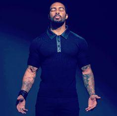 So long Usher! You have been replaced! Omari Hardwick Son, Omari Hardwick Power, Handsome Black Men, Handsome Man, Mature Men, Fine Men, Good Looking Men, Swagg, Bearded Men