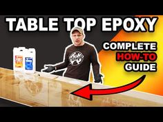 Upstart Epoxy is the best epoxy in 2020! Backed By Professionals AND Our 100% Satisfaction Guarantee! Epoxy Resin for Table Tops - Crystal Clear. Epoxy Resin Table, Clear Epoxy Resin, Homemade Wood Stains, Epoxy Table Top, Diy Resin Crafts, Resin Casting, Woodworking Projects Diy, Resin Art, Epoxy Sealer